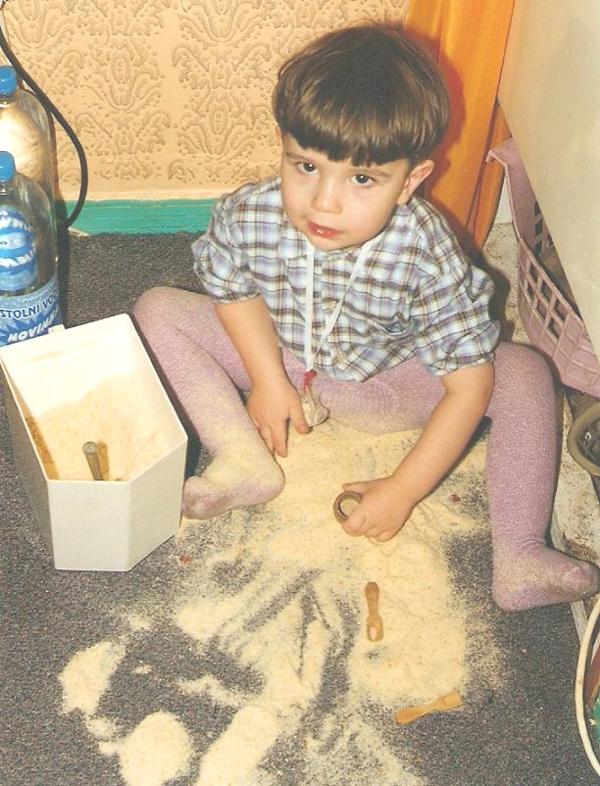 Davča - malý pekař