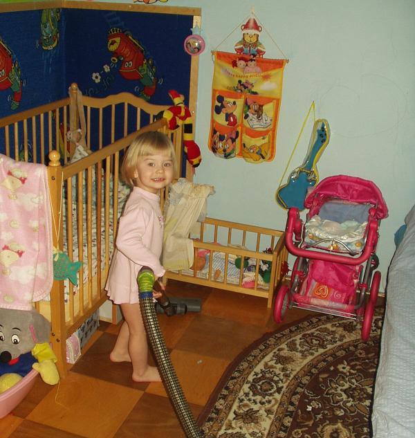 Kristýnka - malá uklízečka