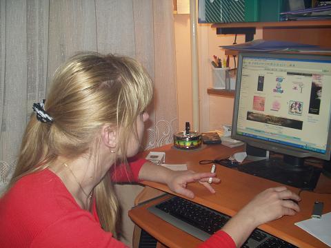 Já u svého PC miláčka